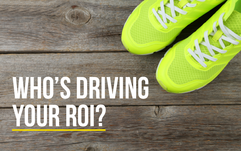 What does ROI mean in B2B marketing?