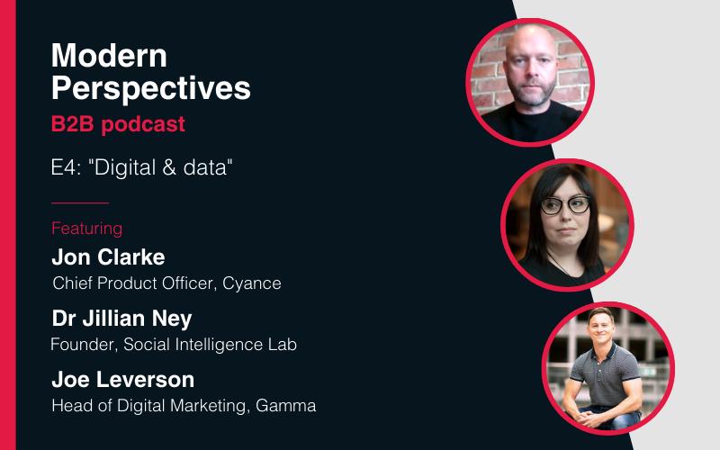 Modern Perspectives podcast: Digital & data