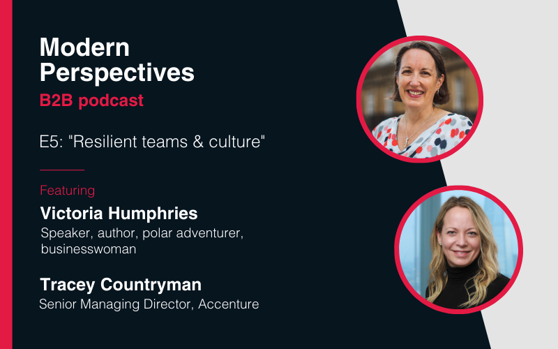 Modern Perspectives podcast: Resilient teams & culture